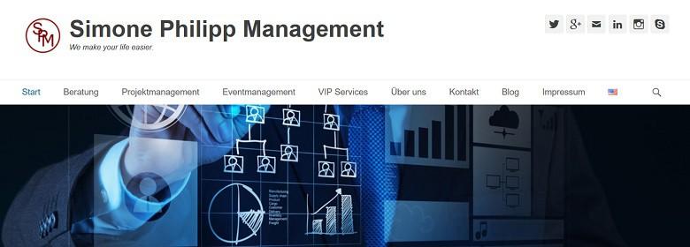Start der Simone Philipp Management